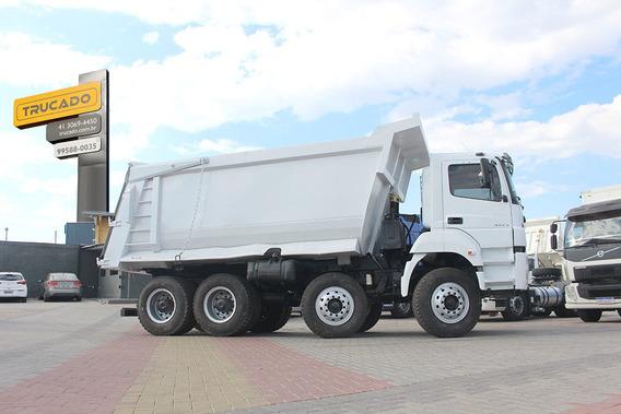 Mb 4144 Bi-truck 8x4 Caçamba Pastre = Noma Facchini Rodo