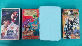 Caballeros Del Zodiaco Street Fighter Vhs Lote
