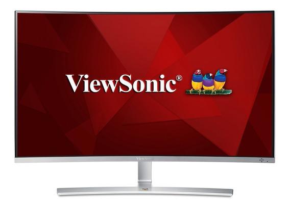 Monitor Led Viewsonic Vx3216 Fullhd 31.5p Curvo Gar. 3 Anos