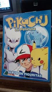 Album De Figuritas Pikachu La Pelicula