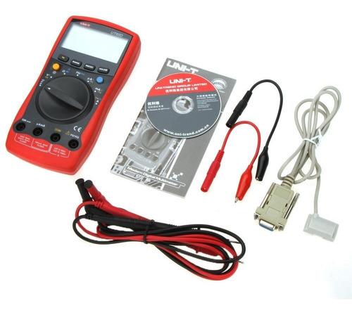 Imagen 1 de 3 de Tester Multimetro Digital Rpm Autorango Salida Pc Rs232 Unit