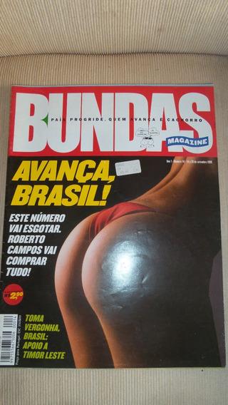 Revista Bundas Nº 14 De Setembro 1999 - Raridade