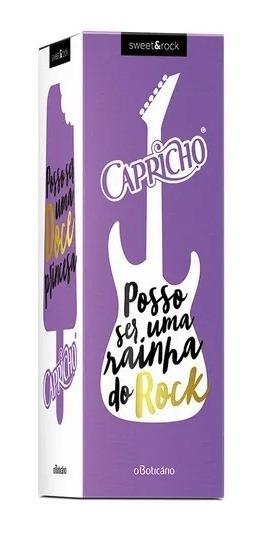 O Boticário Capricho Sweet & Rock Desodorante Colônia, 50ml