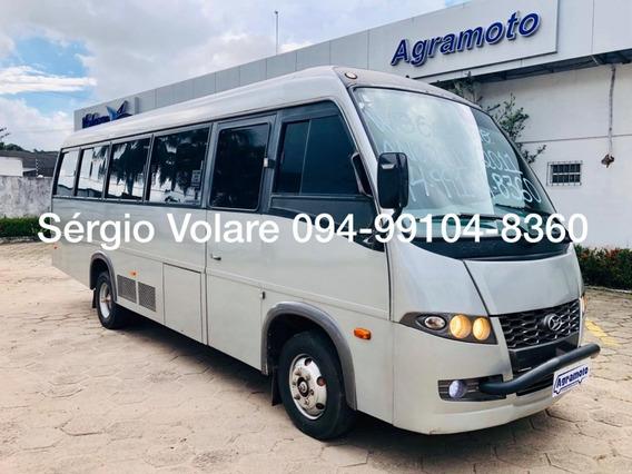 Micro Ônibus Volare W8 Executivo Cor Prata Ano 2010/2011
