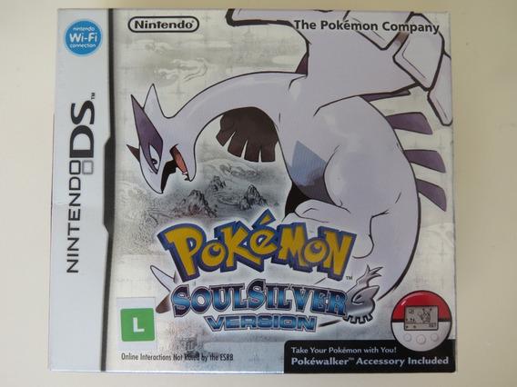 Pokémon Soul Silver Com Pokéwalker Ds - Mídia Física Usado