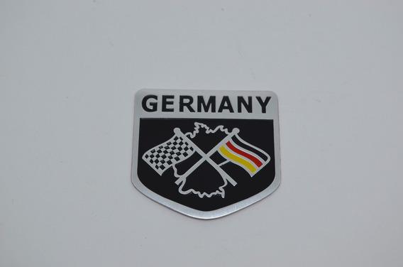 Emblema Bandeira Alemanha Passat Jetta Golf Up Tiguan Polo