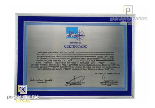 Diploma Em Inox