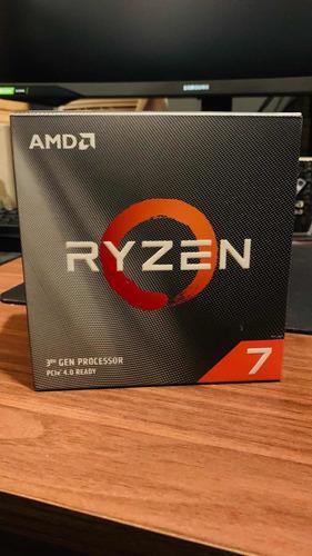 Imagem 1 de 3 de Processador Amd Ryzen 7 3800xt, Cachê 36 3.9ghz (4.7 Ghz )