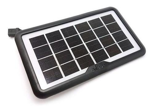 Cargador Panel Solar Usb 8w 1.3 Amperes Cl-680 Multiuso