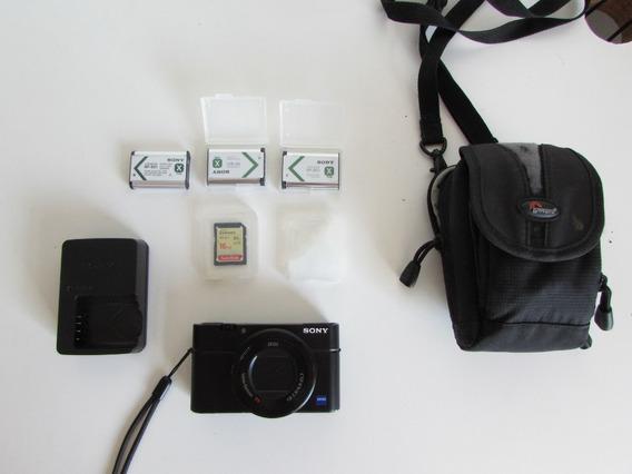Camera Sony Rx100 Iii M3 + Extras