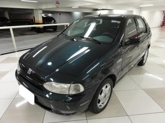 Fiat Palio 1.0 Elx 500 Anos Azul 8v Gasolina 4p