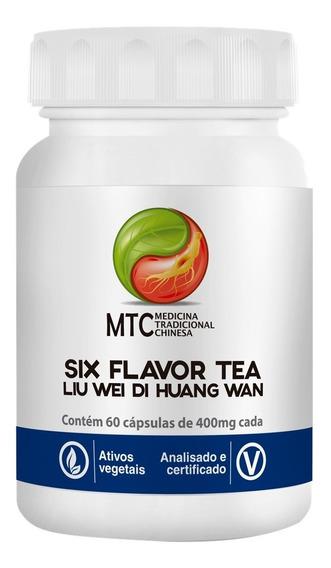 Six Flavor Tea (lui Weidihuangwan) 400mg 60 Caps Mtc