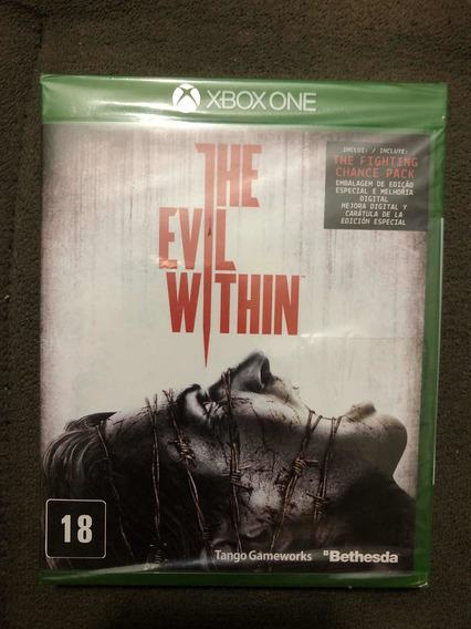 Jogo The Evil Within Xbox One Original Lacrado