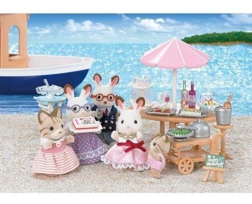 Sylvanian Families Festa Na Praia Epoch Magia 5207