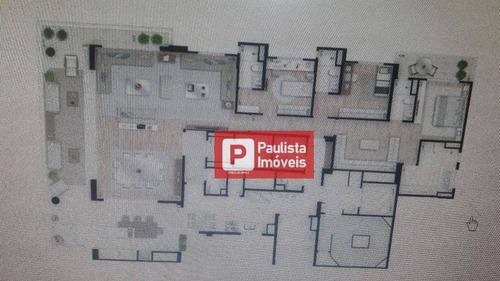Cobertura Residencial À Venda, Moema, São Paulo. - Co0678