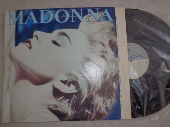 Lp Madonna, True Blue - Encarte