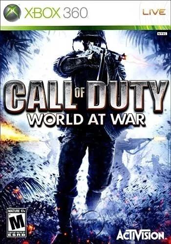 Jogo Call Of Duty World At War Xbox 360 Física Frete Grátis