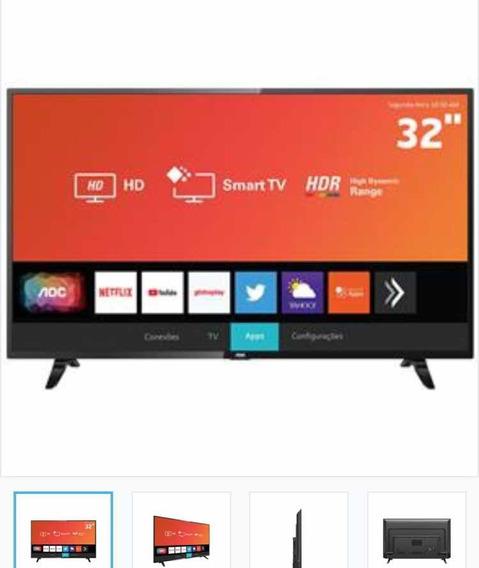 Smart Tv Led Hd 32 Netflix/youtube, Hdmi, Wi-fi E Usb