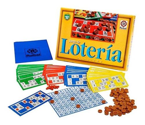 Imagen 1 de 4 de Juego De Loteria Ruibal Clasico Original Planeta Juguete