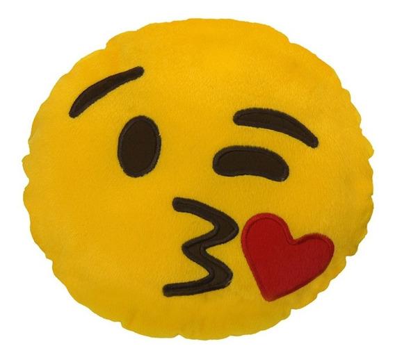 Almofada Emoji - Beijinho