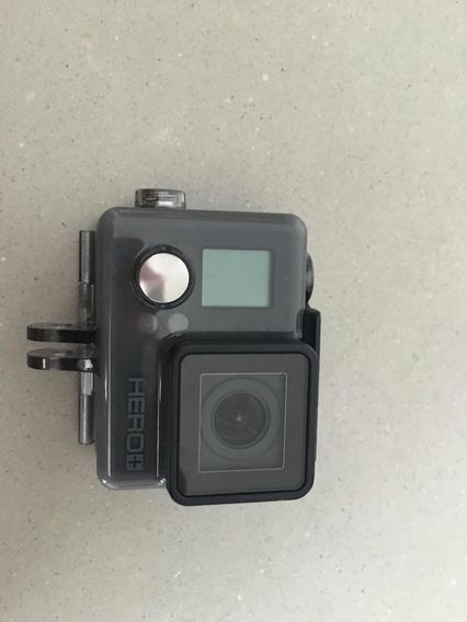 Camera Gopro Hero+ Lcd+gopro3, Nova, Comprada Us