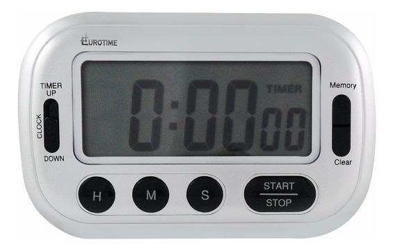Timer Eurotime Ideal Gastronomia Alarma Sonora C/pie C/iman