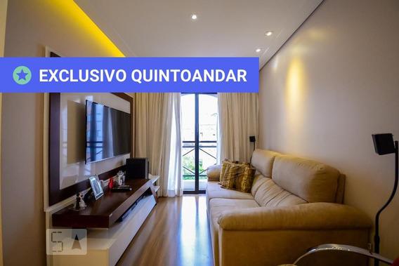 Apartamento No 2º Andar Mobiliado Com 2 Dormitórios E 1 Garagem - Id: 892976942 - 276942