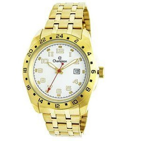 Relógio Masculino Champion Dourado Ca31346h