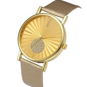 Relógio Feminino Barato Ouro Rose