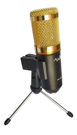 Mini Tripé De Mesa Para Microfone Bm800 Etc Suporte Pedestal