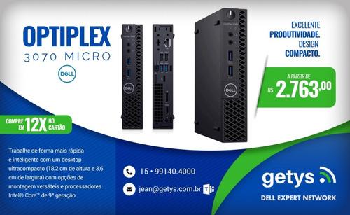 Desktop Dell Optiplex 3070 Micro