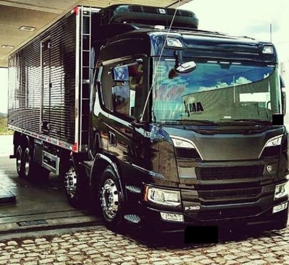 Scania P 360 - Bau Frigorifico - 2020 - 0km