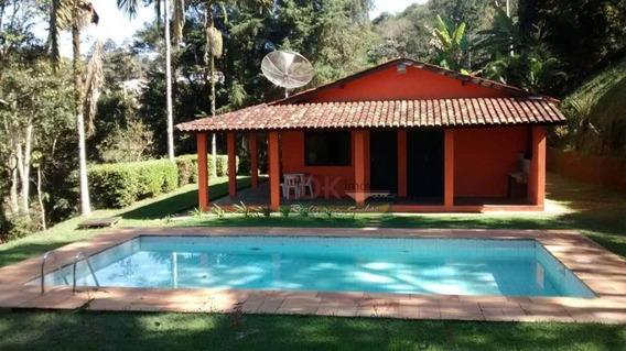 Chácara Com 2 Dormitórios À Venda, 6000 M² Por R$ 610.000,00 - Recanto Das Águas - Igaratá/sp - Ch0173
