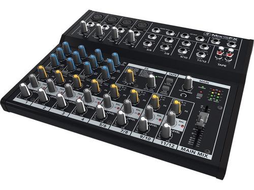 Mixer Consola Mackie Mix12fx 12 Canales Efectos Cuotas Env !