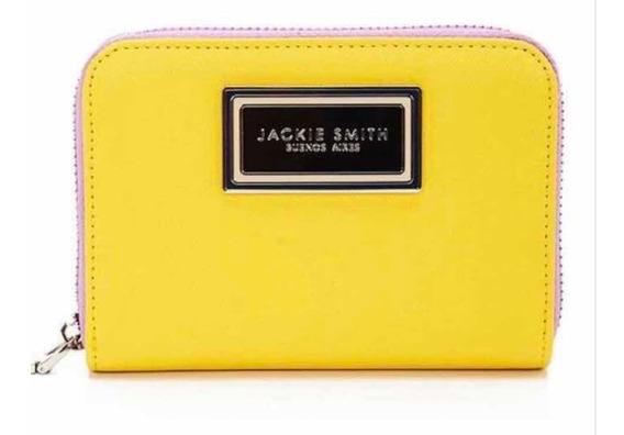 Billeteras Jackie Smith Modelo Chico Color Amarillo