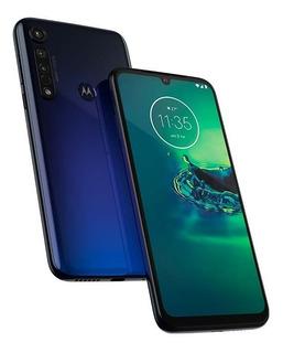 Motorola Moto G8 Plus 64gb Azul Y Rojo Nuevos