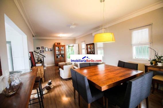 Casa Com 3 Dormitórios À Venda, 185 M² Por R$ 695.000 - Barão Geraldo - Campinas/sp - Ca1541