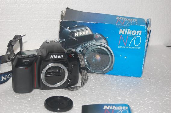 Nikon Analógica Usada No Estado