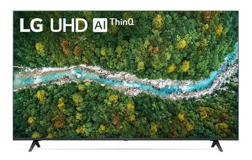 Imagem 1 de 4 de Smart Tv LG Led 4k Uhd 65  Google Alexa E Wi-fi 65up7750psb