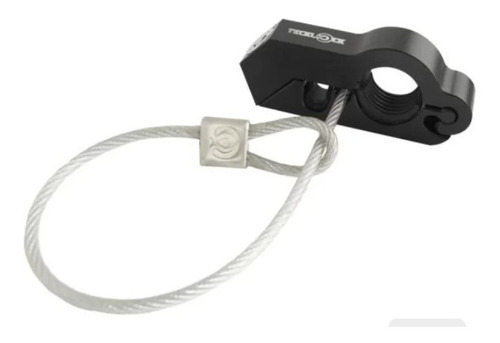 Cadeado Para Moto Trava Acelerador E Freio + Trava Capacete