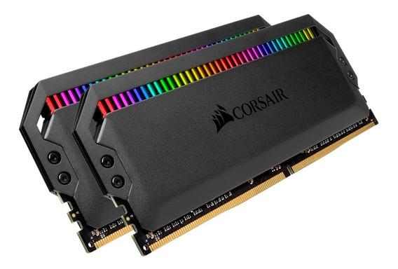 Ram Corsair Dominator Rgb 3200 Mhz Ddr4 16 Gb (2 X 8 Gb) C16