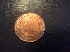 Moeda 20 Réis 1904 - Bronze - Muito Rara - República