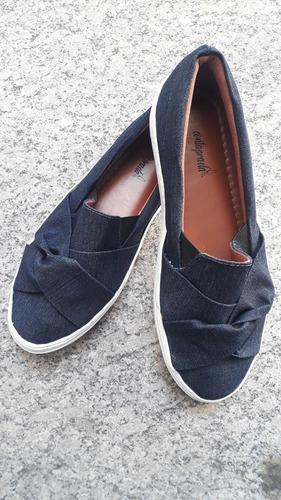 Imagem 1 de 1 de Tenis Slip Jeans Tamanhos Especiais 40 Ao 43