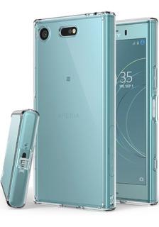 Funda Sony Xz1 Compact Ringke Fusion Clear Transparente