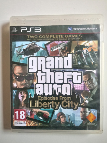 Gta Gran Theft Auto 4: Episodes From Liberty City Ps3 Física