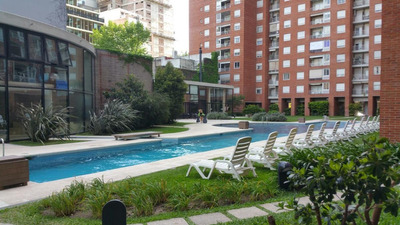 Alquiler Temporario, 2 Ambientes Con Vista Al Río , Jardines Del Libertador , Nuñez, Capital Federal