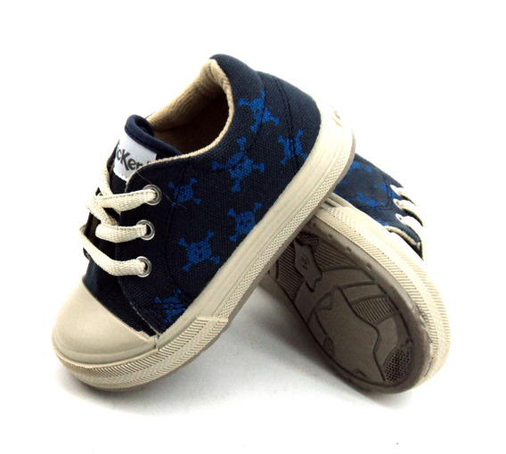 Zapatillas Kickers Owen Azul Urbana Niño 535714 Empo2000