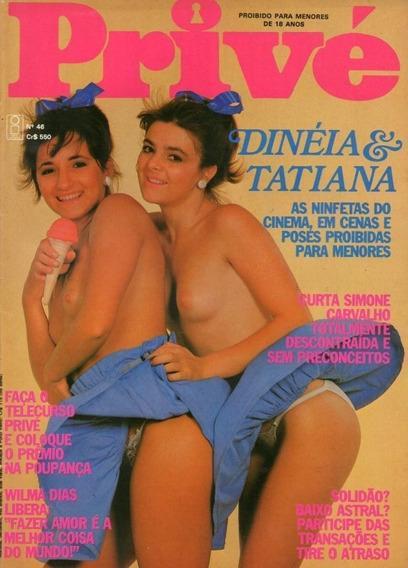 Privé 1983 Leda Zeppelin Chacrete Wilma Dias Simone Carvalho