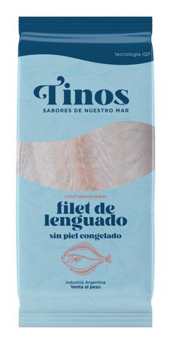 Imagen 1 de 4 de Pack De Filet De Lenguado Sin Piel Congelado Tinos X 2un