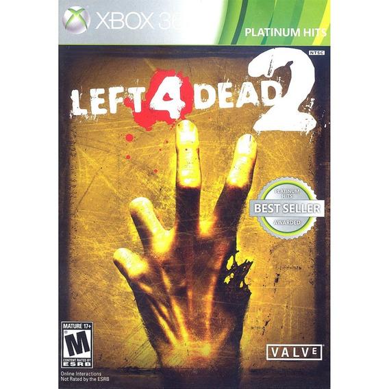 Left 4 Dead 2 Platinum Hits Xbox 360 Mídia Física